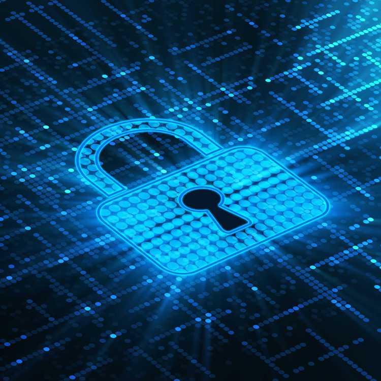 Confidentiality lock symbol
