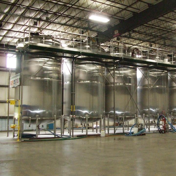 Chemical blenders at Seatex