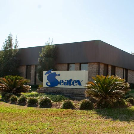 Seatex headquarters signage in Rosenberg, TX